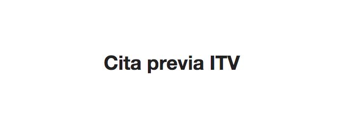 Cita ITV